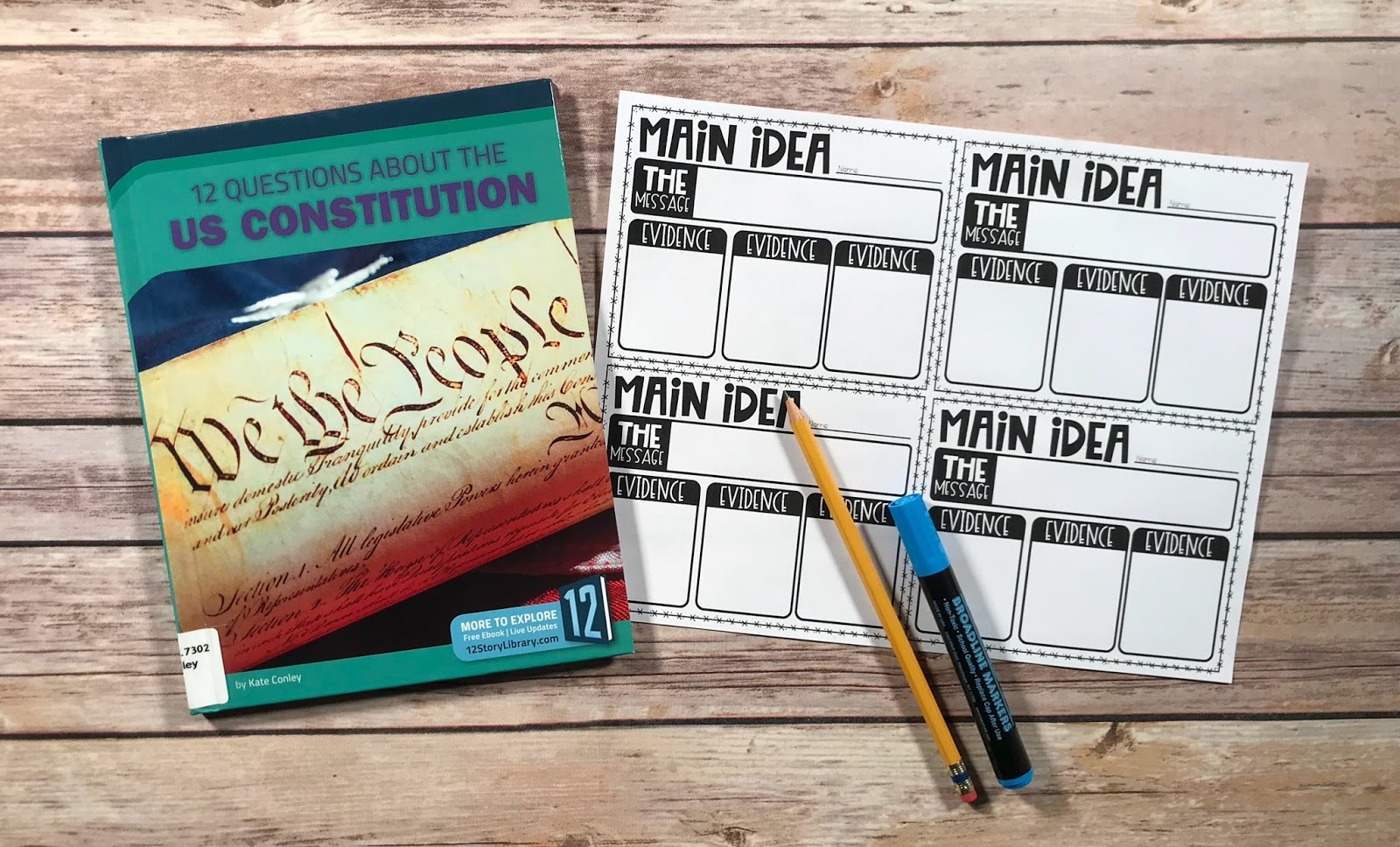 Using Mentor texts is fun way to teach or review reading comprehension to upper elementary students. These digital and printable graphic organizers are a fun way to engage , whether you utilize mentor texts in centers, small groups or the whole class. Beginning of Spring is the perfect time for a review with daylight saving time, weather, and basketball. {3rd, 4th, 5th, reading comprehension}