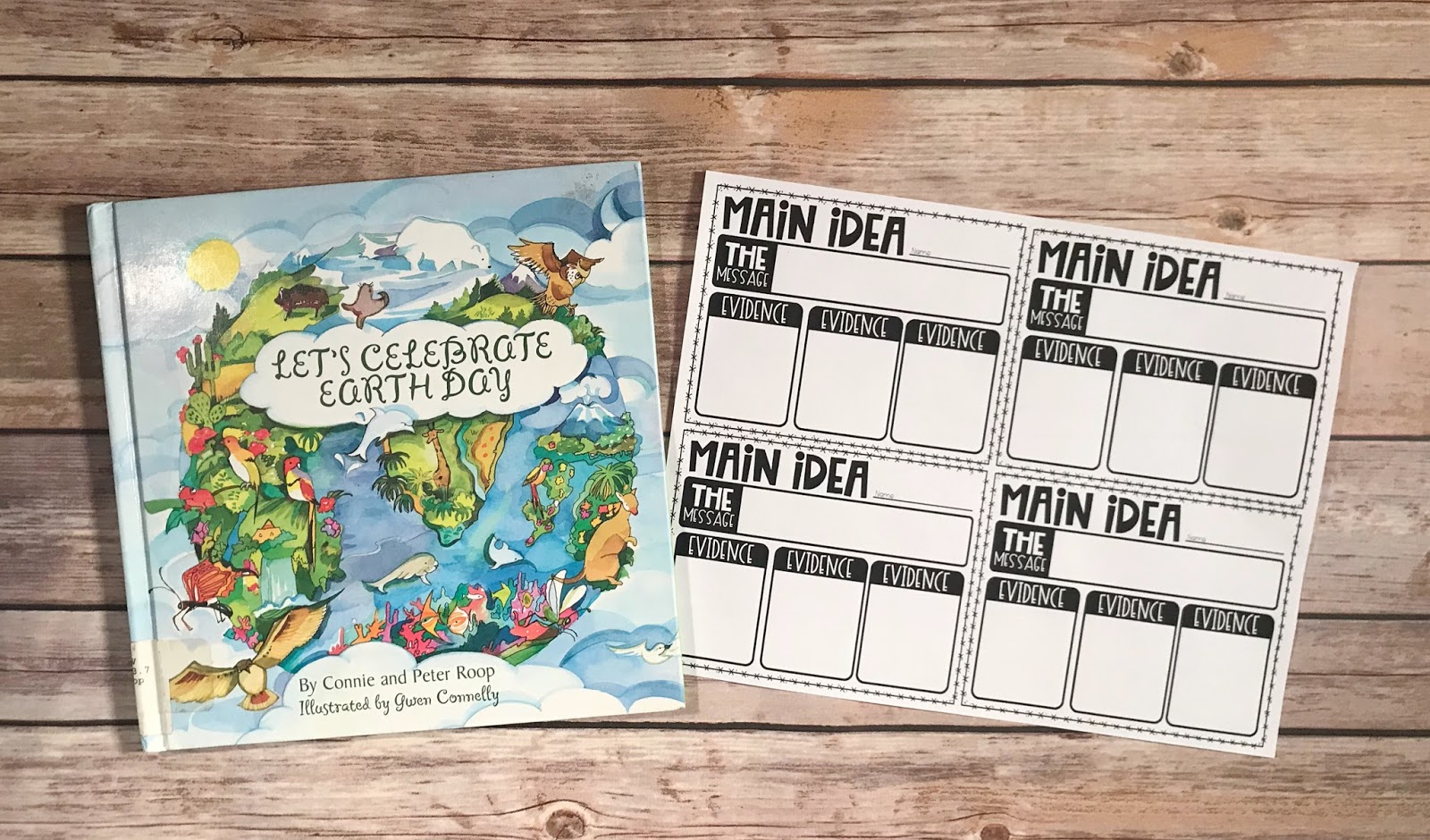 Using Mentor texts is fun way to teach or review reading comprehension to upper elementary students. These digital and printable graphic organizers are a fun way to engage , whether you utilize mentor texts in centers, small groups or the whole class. April is the month to celebrate poetry and Earth Day, plus it allows for your to choose books that may not fit in during other times of the year. {3rd, 4th, 5th, reading comprehension}