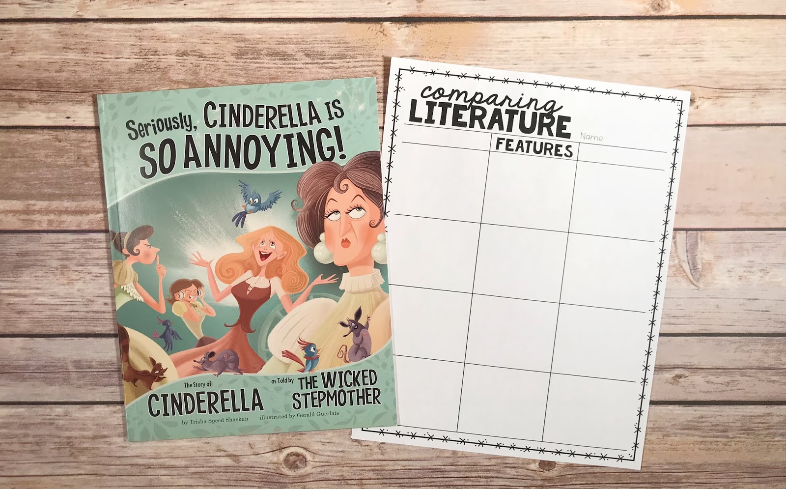 Using Mentor texts is fun way to teach 10 reading skills in 10 weeks to upper elementary students. These digital and printable graphic organizers are a fun way to engage , whether you utilize mentor texts in centers, small groups or the whole class. 3rd, 4th, and 5th graders will enjoy a read aloud while strengthening their comprehension of story theme, character inferences, making predictions, and exploring cause and effect. {third, fourth, fifth grade, digital, printable, reading skills}