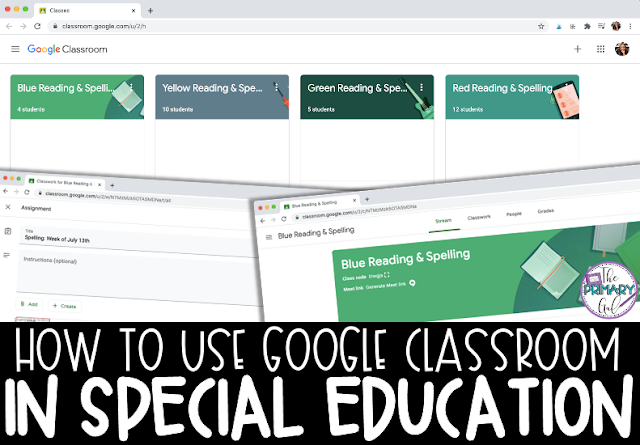 How to Use Google Classroom in Special Education